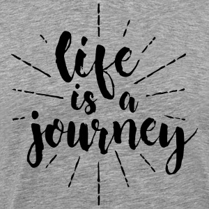 life is a journey - Men's Premium T-Shirt
