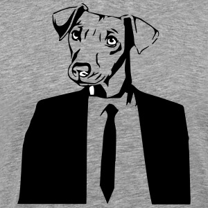 DOG IN SUITE - Men's Premium T-Shirt