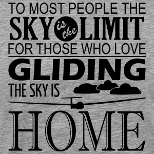 gliding home - Men's Premium T-Shirt