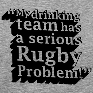 Rugby Problem - Men's Premium T-Shirt