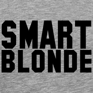 smart blonde - Men's Premium T-Shirt