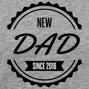 new dad since 2016 - Men's Premium T-Shirt