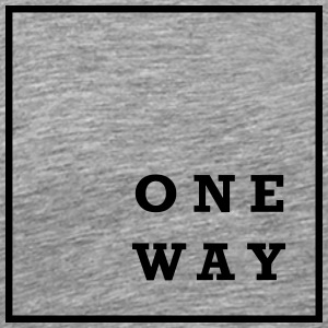 One Way - Men's Premium T-Shirt