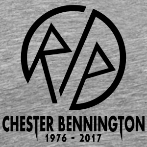 chester RIP - Men's Premium T-Shirt