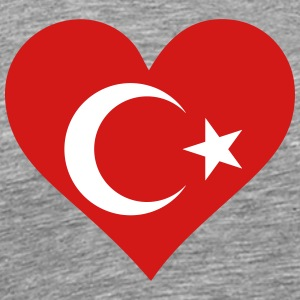 A Heart For Turkey - Men's Premium T-Shirt