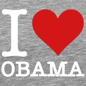 I Love Obama - Men's Premium T-Shirt