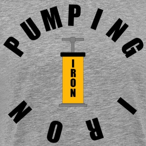 Pumping Iron - Men's Premium T-Shirt