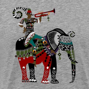 Ethnic decorative painting