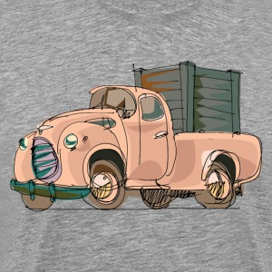 Hand painted cartoon car