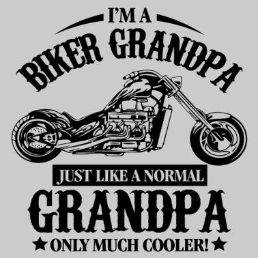 Biker Grandpa - Men s Premium T-Shirt 7bd6b0e0f