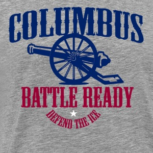 COLUMBUS BATTLE READY DEFEND THE HOME ICE! - Men's Premium T-Shirt