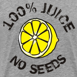 100% Juice - No Seeds