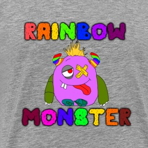Rainbow Monster - Men's Premium T-Shirt