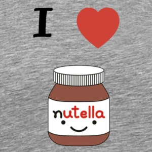 I LOVE NUTELLA - Men's Premium T-Shirt