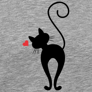 Cute and amazing cat - Men's Premium T-Shirt