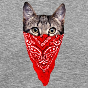 Gangster Cat - Men's Premium T-Shirt