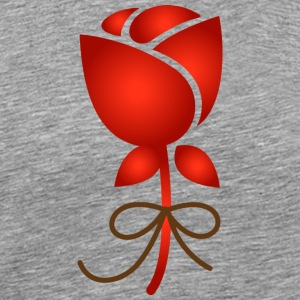 A Rose Flower - Men's Premium T-Shirt