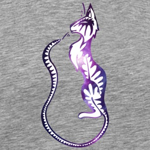 Galaxy_cat_with_long_tail - Men's Premium T-Shirt