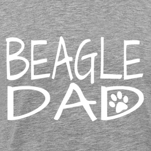 Beagle Dog Dad - Men's Premium T-Shirt