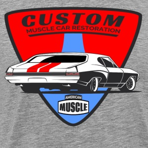 Custom Muscle Car - Men's Premium T-Shirt