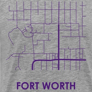 Fort Worth Streets - Men's Premium T-Shirt