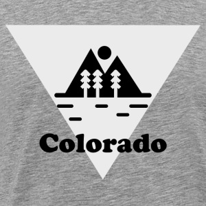 Colorado Landscape B & W - Men's Premium T-Shirt