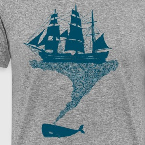 Exhaling flotsam - Men's Premium T-Shirt