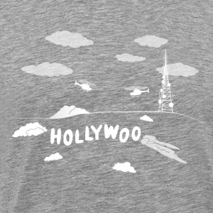 Holliwoo Sign - Men's Premium T-Shirt