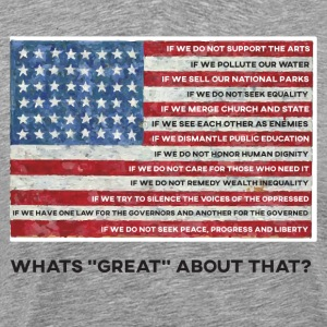 American Values Flag - Men's Premium T-Shirt