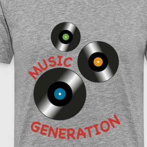Music vintage - Men's Premium T-Shirt