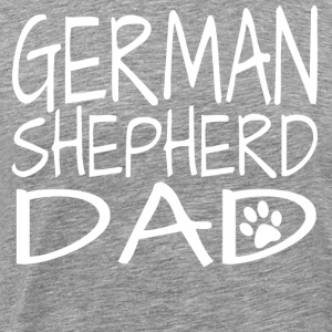 German Shepherd Dad - Men's Premium T-Shirt
