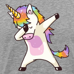 Dabbing Unicorn - Men's Premium T-Shirt
