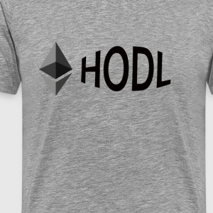 Ethereum HODL - Men's Premium T-Shirt