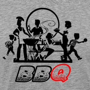 Party Time Barbecue BBQ - Men's Premium T-Shirt