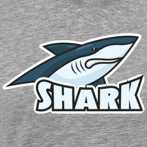 I love giant sharks - Men's Premium T-Shirt