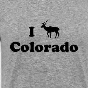 colorado deer - Men's Premium T-Shirt