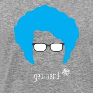 Geo Nerd (him) - Men's Premium T-Shirt
