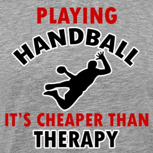 handball design - Men's Premium T-Shirt