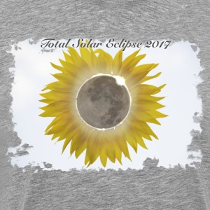Total Sunflower Eclipse Design 1 - Men's Premium T-Shirt