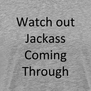 jackass v1 - Men's Premium T-Shirt