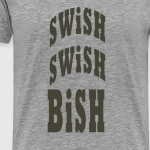 swish swish - Men's Premium T-Shirt