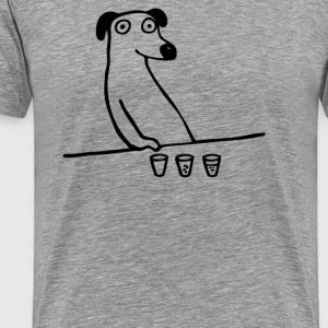 Dog Drunkard 2 - Men's Premium T-Shirt