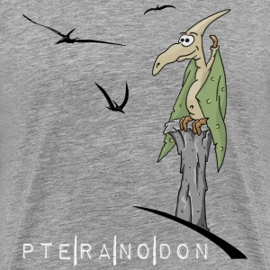 pteranodon dino flying dinosaur cool gift present - Men's Premium T-Shirt