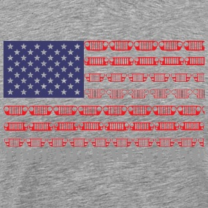 Together We Stand JEEP - Men's Premium T-Shirt