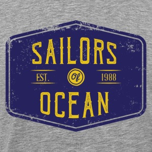 Sailors of ocean - Men's Premium T-Shirt