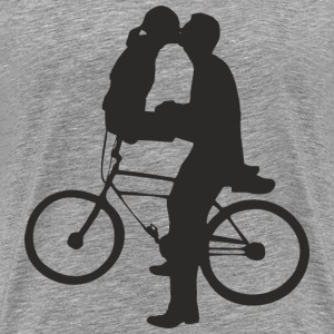 cycle kiss - Men's Premium T-Shirt