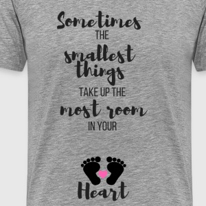 Sometimes the Smallest Things (Pink) - Men's Premium T-Shirt