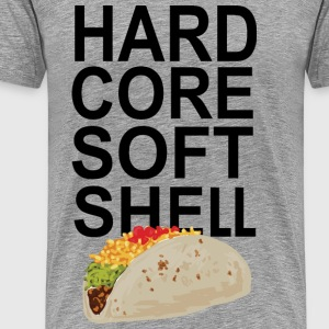 hard core soft shell - Men's Premium T-Shirt