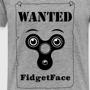 Fidget Spinner Face wanted - Men's Premium T-Shirt