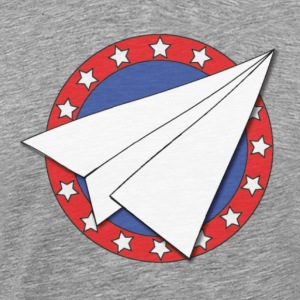 Paper Airplane - Men's Premium T-Shirt